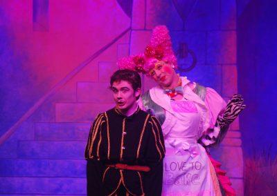 Pantomime Villain with Dame